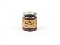 Schwarze Oliven mariniert