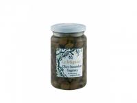 Olive snocciolate Taggiasche in Oliven..