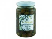 Olive snocciolate Taggiasche in Olivenöl