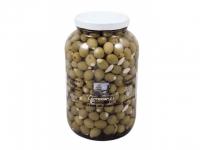 Oliven Manzanilla mit Mandeln 3,9Kg