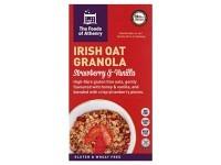 Irish Oat Granola VANILLA & STRAWBERRY..