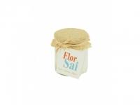 Flor de Sal Glas mit Jute 150g