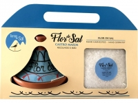 Set - Flor de Sal mit Keramikhut 200g