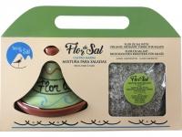 Set - Flor de Sal SALADA mit Keramikhu..