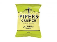 PIPERS CRISP Co - Jalapeño and Dill 40g