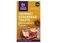 MULTI-SEED with Cumin Soda Bread Toast..
