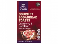 Cranberry & Hazelnut Soda Bread Toasts..