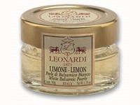 Perlen aus weissem Balsamico mit Zitronel 50g