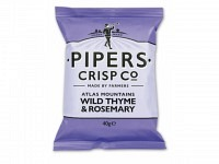 PIPERS CRISP Co - Atlas Mountain WILD THYME & ROSEMARY 40g